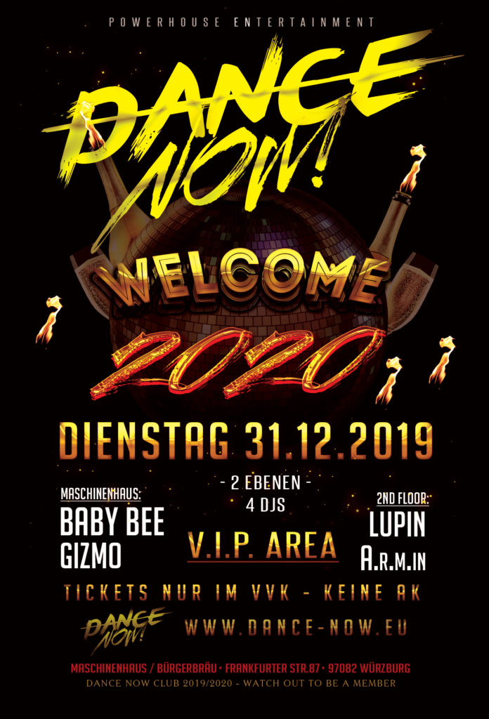 Silvester Party Welcome 2020